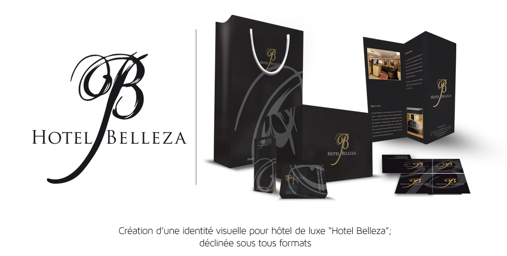 Projet Belleza documents et packaging